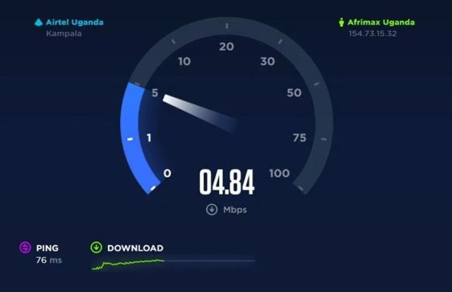 ookla speed test uganda