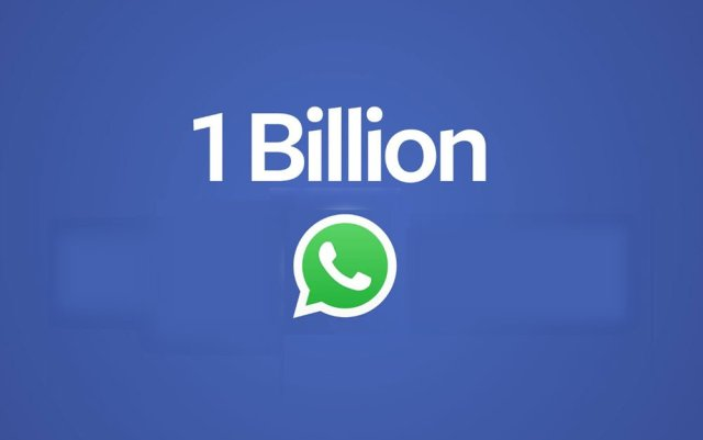 1 billon users whatsapp