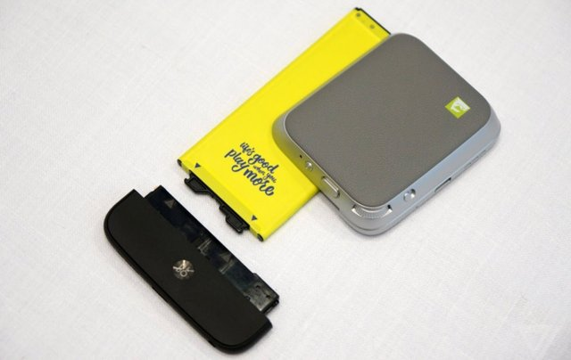 LG G5 modular accessories