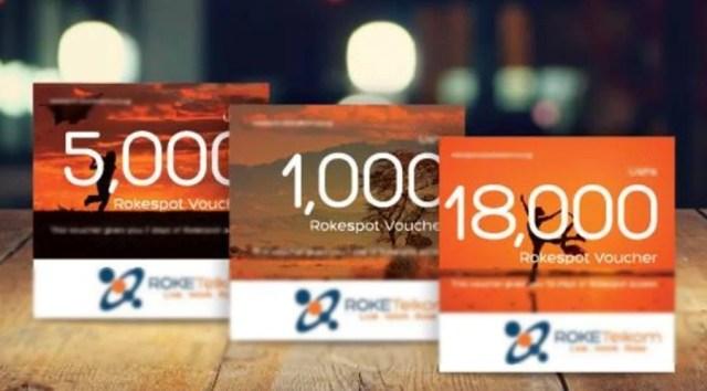 Roke Telkom Scratch cards
