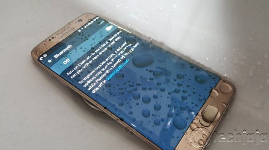 Galaxy s7 Edge water resistance