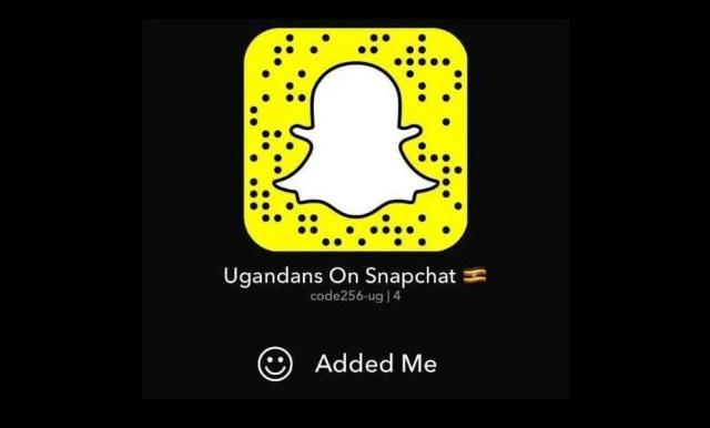Ugandans on Snapchat1