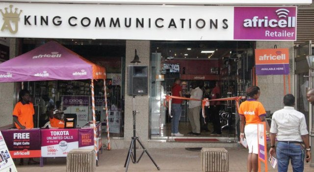 king communications and Africell