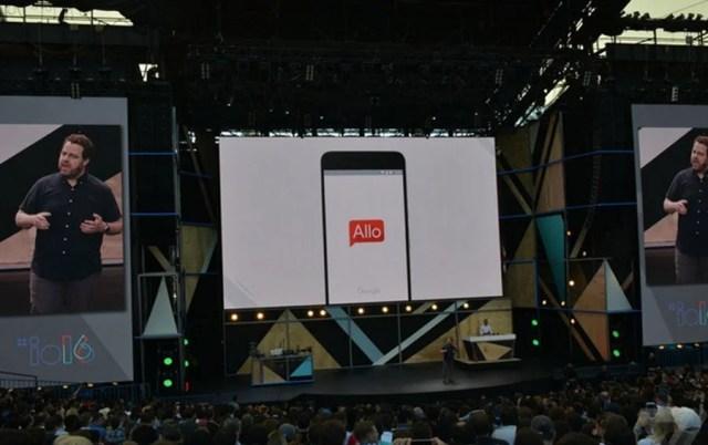 Allo Messaging app
