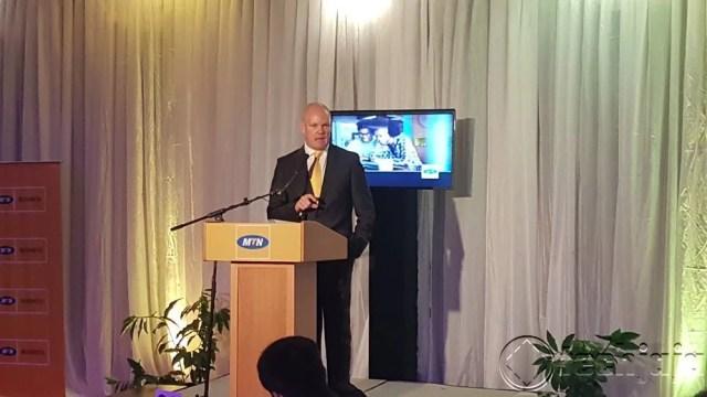 MTN Uganda's CEO Brian Gouldie