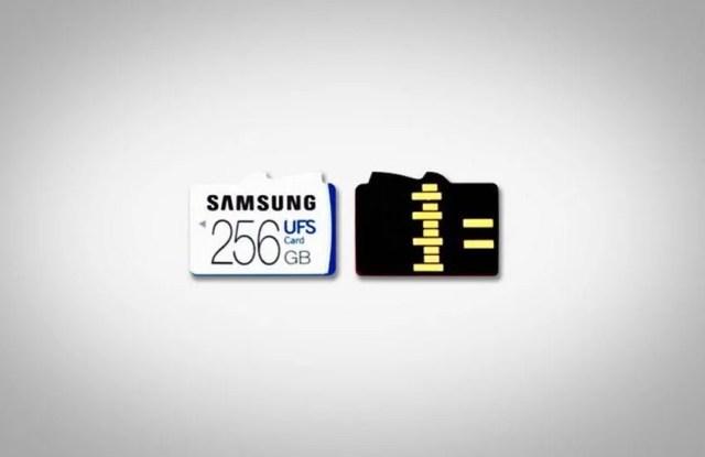 UFS MicroSD by samsung