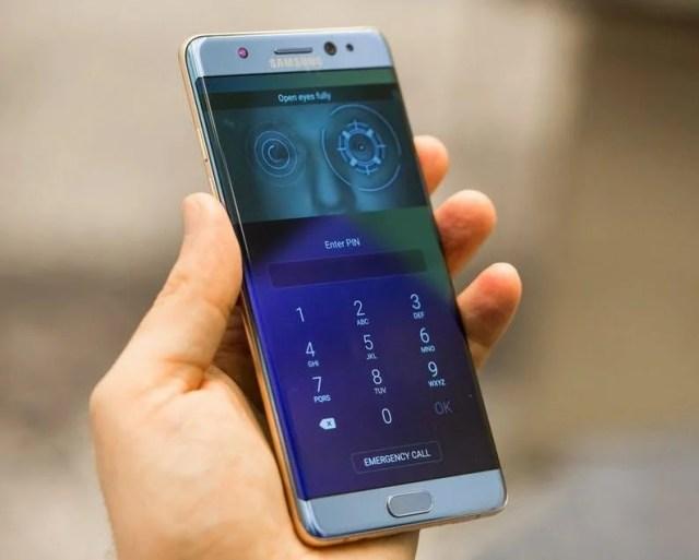Galaxy Note 7_ isris scanner