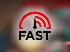 fast.com speed test