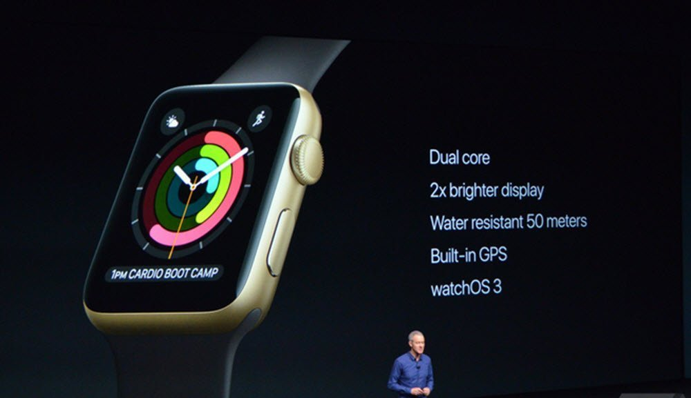 reputable site 2787d bc0ab The new Apple Watch Series 2: Faster, Brighter and 'Super ...