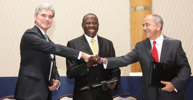 Signing of Uganda MOU - Seimens