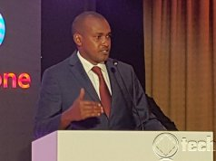 The ICT Minister Frank Tumwebaze