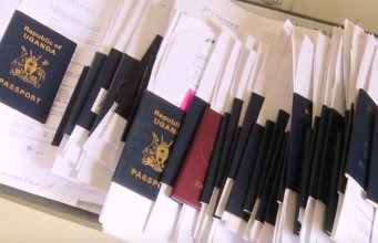 Ugandan ordinary passport