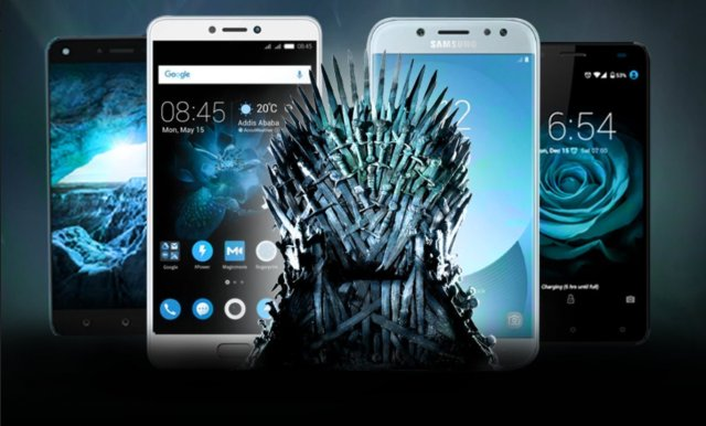 Jumia's battle of smartphones