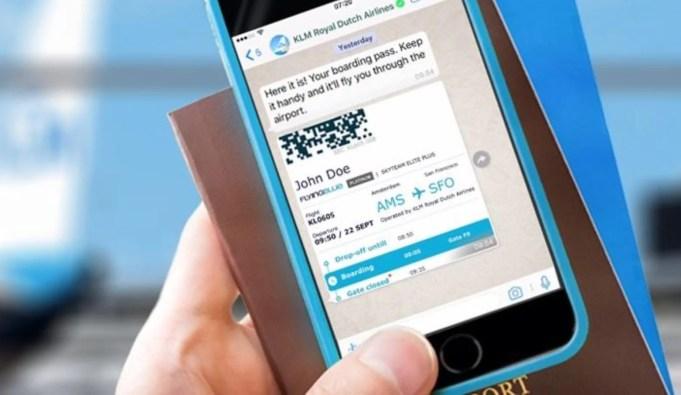 KLM Uganda verifed by Whatsapp