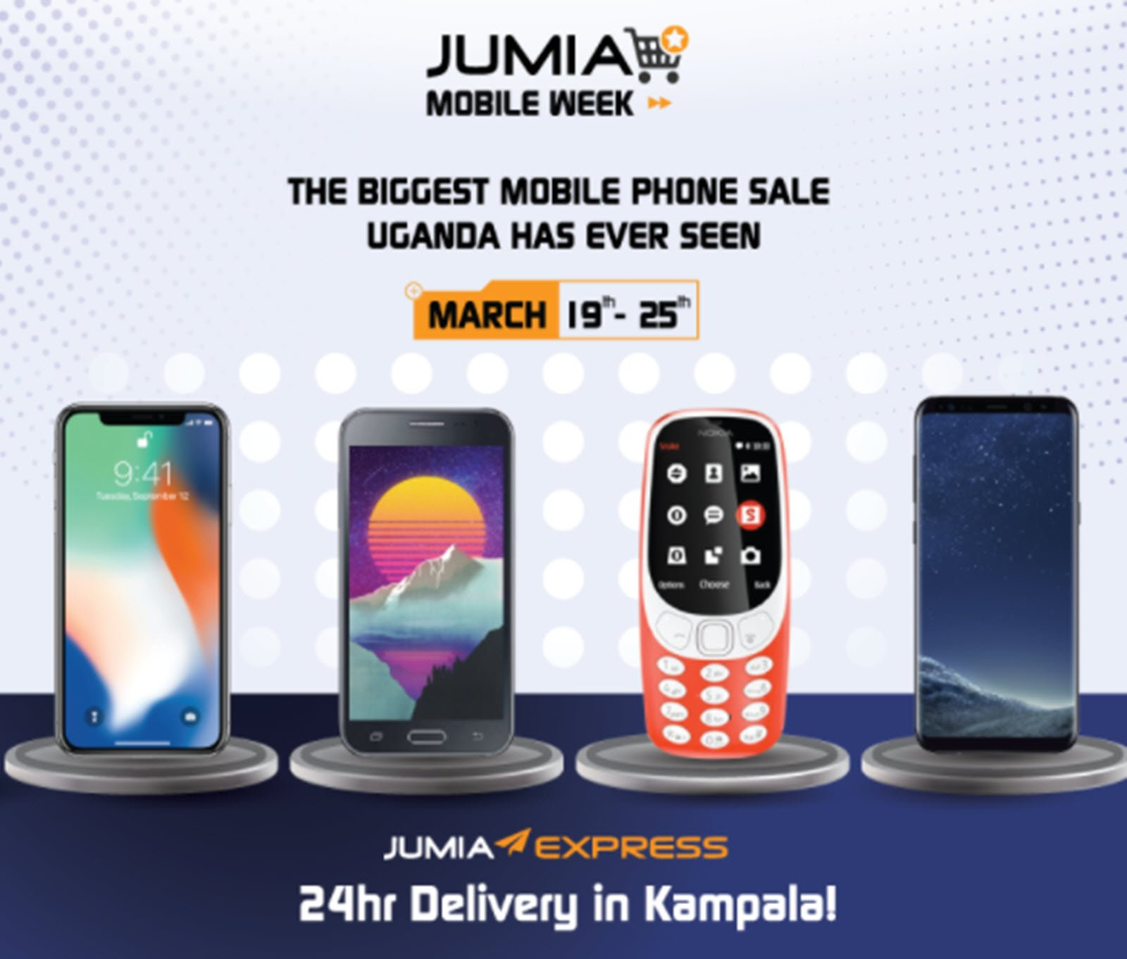 bfce328ff Jumia lists new smartphones for as low as UGX 100K in its Jumia Mobile Week  Promo