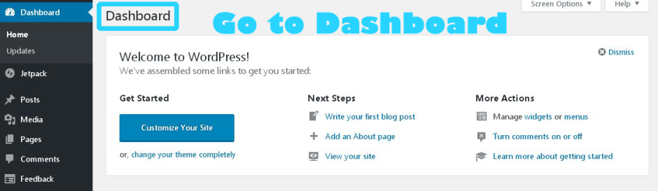 divide our WordPress blog posts into multiple pages copy