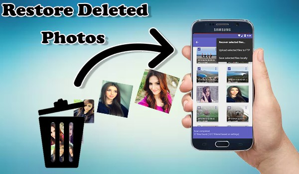 how to recover deleted photos from android without root and computer
