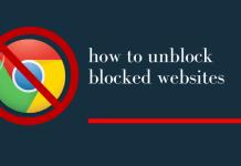 how to unblock blocked websites