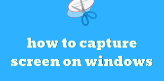 how to capture screen on windows 7/8/10