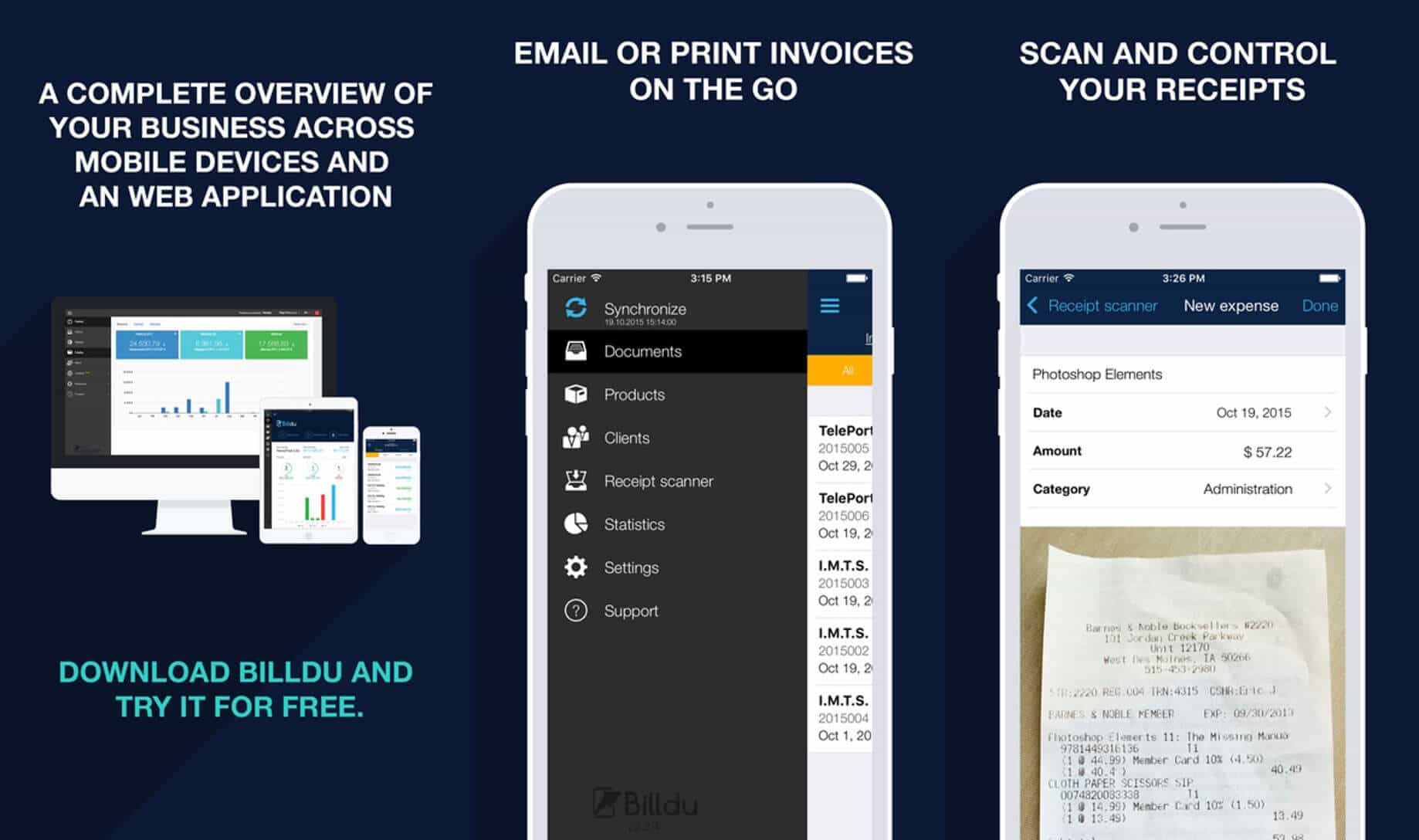 Top 5 Best Invoice App for iPhone and iPad 2018 Invoice maker for iPhone