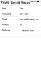 Kendo-editText