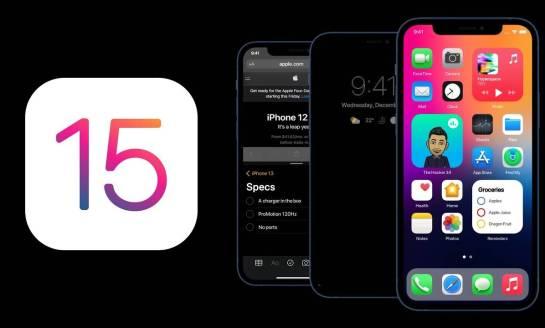 iOS 15 - Apple aggiunge nuovi widget