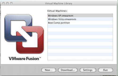 List of virtual machines