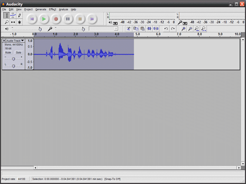 Cleaning Up Spoken-Word Recorded Audio With Audacity