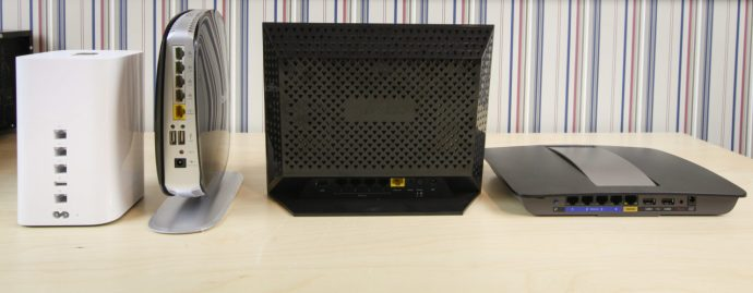 802.11ac Wi-Fi Routers Apple Netgear Belkin Linksys