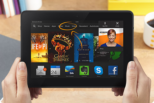 Kindle Fire OS 3.0 Mayday