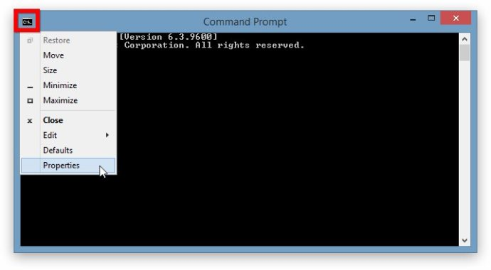 Command Prompt QuickEdit Mode