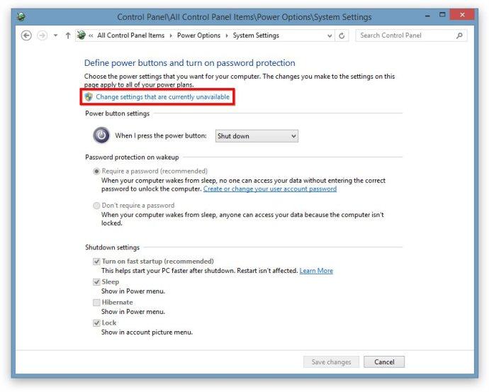 Windows 8 Power User Menu Hibernate