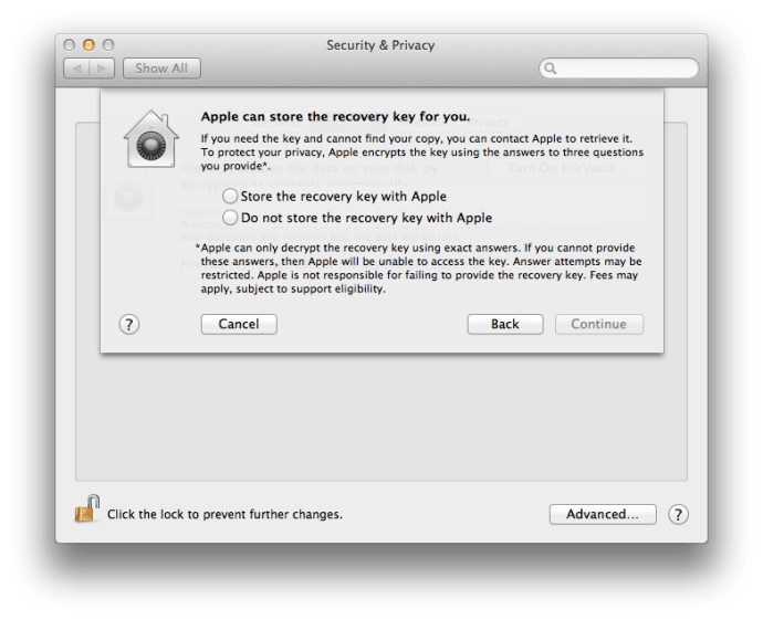 How to Enable FileVault