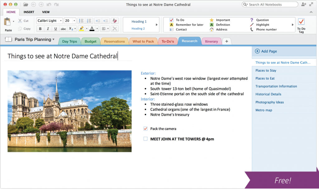 Microsoft Releases OneNote for Mac for Free via the Mac App
