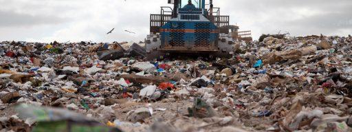 Landfill Bulldozer