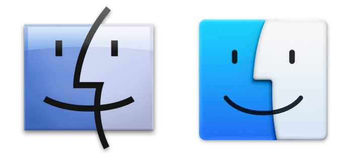 Finder Mavericks vs Yosemite
