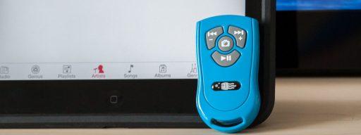 Square Jellyfish Four Button Remote
