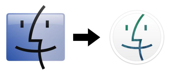 Change Finder Icon OS X