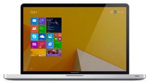 MacBook Pro Windows 8.1