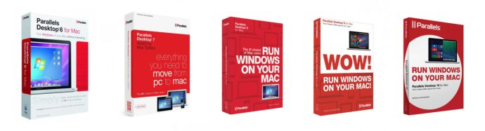 Parallels Desktop Versions