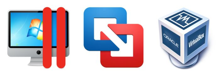 Parallels Fusion VirtualBox Icons
