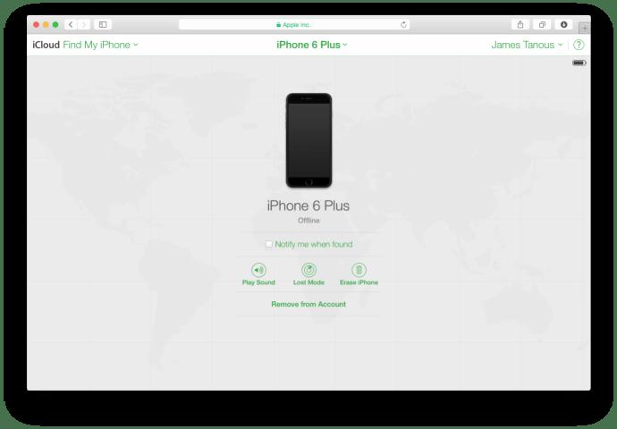 Find My iPhone Offline
