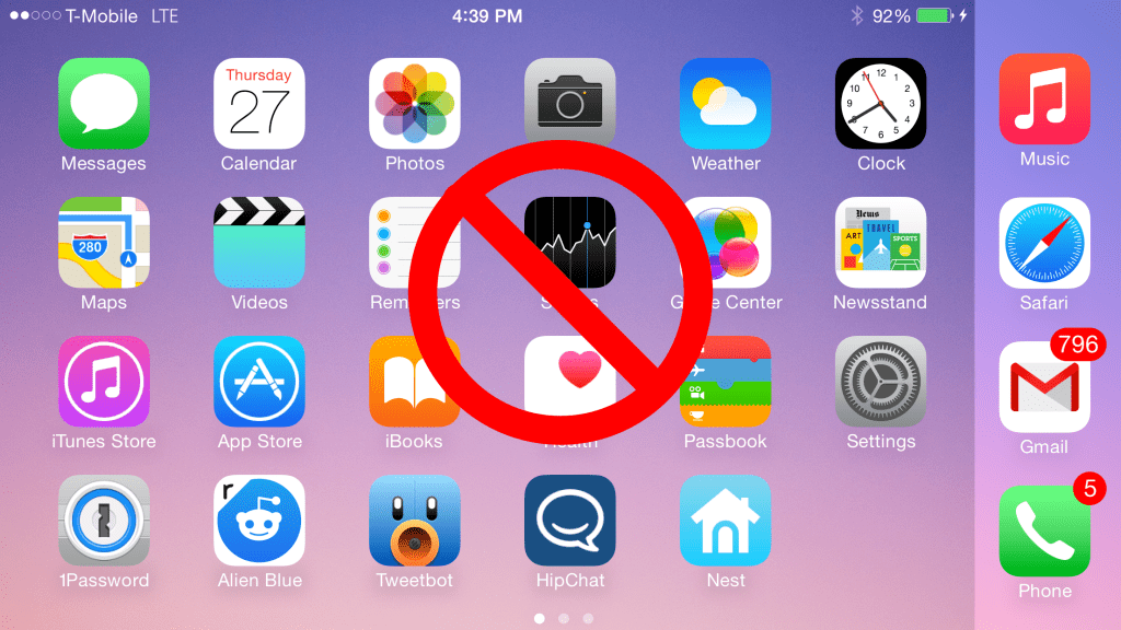 How to Disable Home Screen Rotation On iPhone 6 Plus