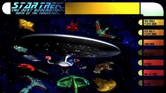 star trek birth of the federation