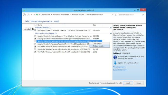 windows-restore-hidden-updates