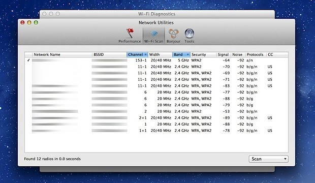 wifi-scanner-mac