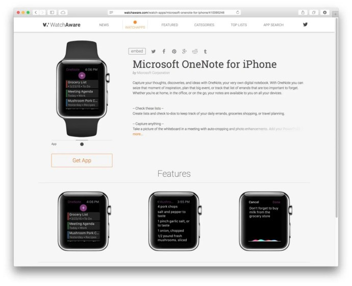 watchaware apple watch apps