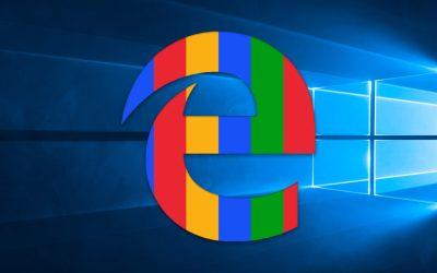 edge start page google