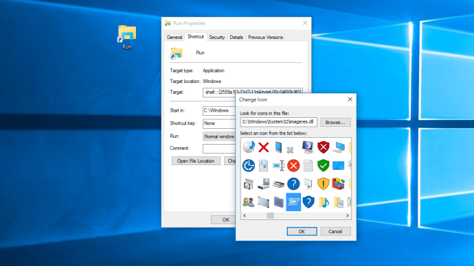 windows 10 run command shortcut