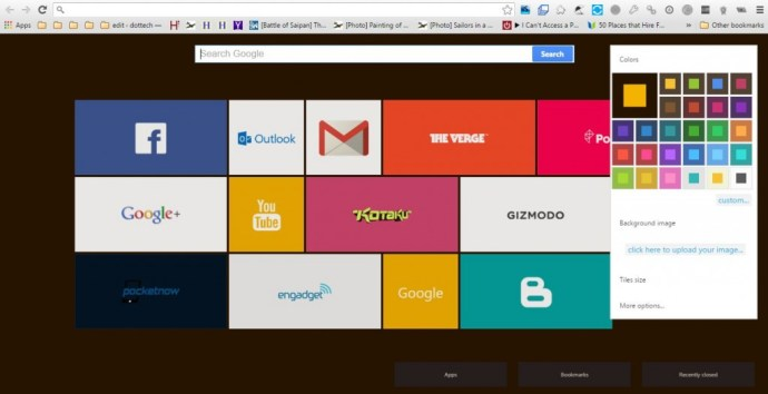 Chrome New Tab 5
